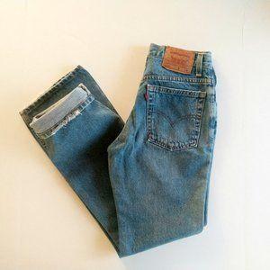 Vintage Levi Jeans Levi's 517 Distressed Boot Cut